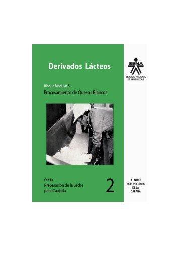 preparación de la leche para cuajada - Biblioteca Sena