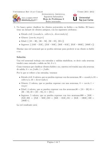 Solución - Grupo de Inteligencia Artificial - Universidad Rey Juan ...