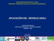 V. APLICACIÓN DEL MODELO GR2m - ORE HYBAM