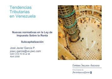 Tendencias Tributarias en Venezuela - Venamcham