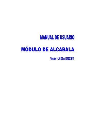 manual de alcabala - Ministerio de Economía y Finanzas