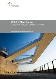 Holcim Chamäleon – Die Systemlösung für Sichtbeton-Unikate ...