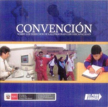 Convencion sobre los Derechos de las Personas con Discapacidad