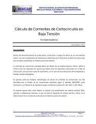 Cálculo de Corrientes de Cortocircuito en Baja Tensión