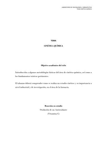 Experimento  1 - UNAM