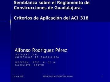 Semblanza sobre el Reglamento de Construcciones de Guadalajara
