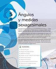 Ángulos y medidas sexagesimales - McGraw-Hill