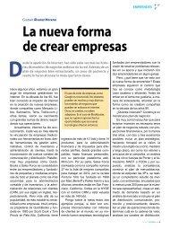 La nueva forma de crear empresas - Pyme Adminístrate Hoy