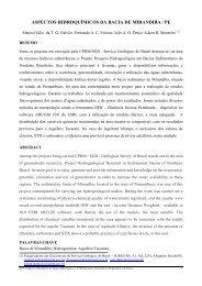 aspectos hidroquímicos da bacia de mirandiba / pe - CPRM