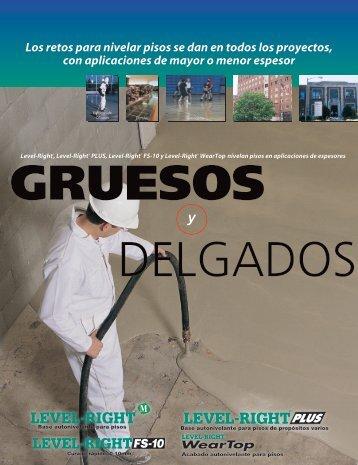 GRUESOS DELGADOS