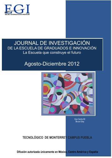 Diciembre 2012 - Puebla - Tecnológico de Monterrey