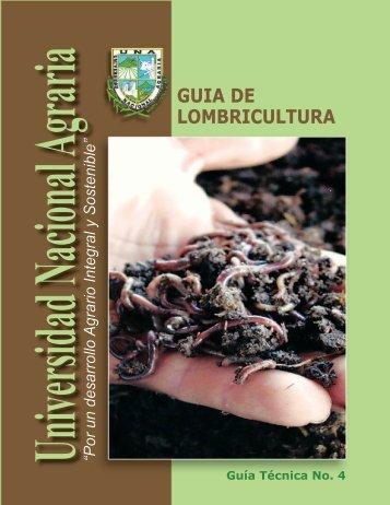 GUIA DE LOMBRICULTURA - Universidad Nacional Agraria