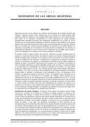 NOSEMOSIS DE LAS ABEJAS MELÍFERAS - OIE