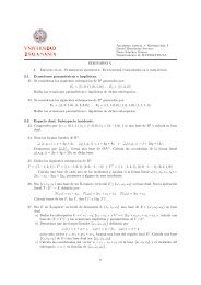 Problemas Seminario 5 con algunas soluciones - OCW Usal