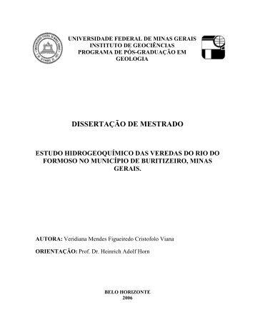 capítulo 1 - Biblioteca Digital de Teses e Dissertações da UFMG