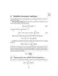5 Variables aleatorias continuas