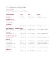 Unsere Liste der Ansprechpartner als pdf ... - bei altmayerbtd