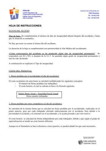 HOJA DE INSTRUCCIONES: