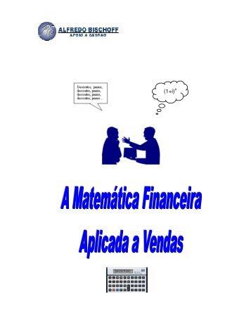 matemática financeira aplicada a vendas - Alfredo Bischoff
