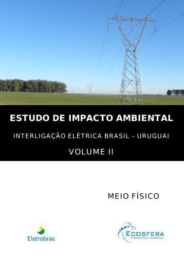ESTUDO DE IMPACTO AMBIENTAL - Ibama