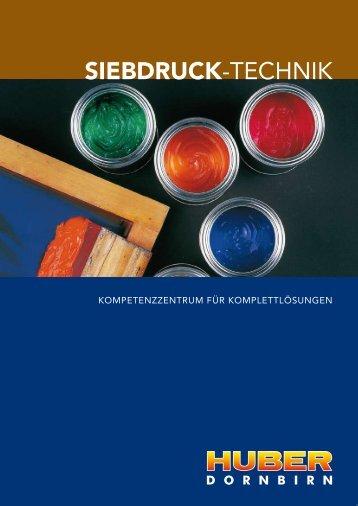 SIEBDRUCK-TECHNIK