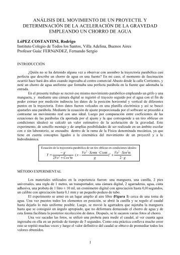 Leyes de Newton - Determinación de la aceleración de