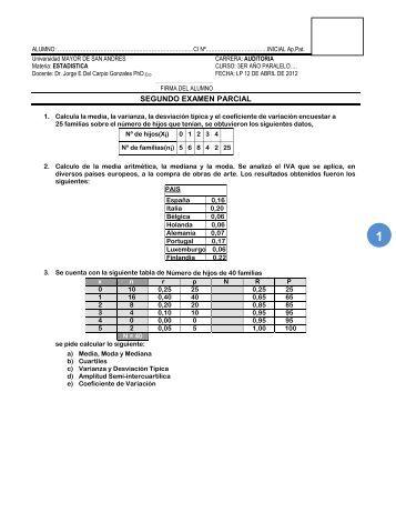 SEGUNDO EXAMEN PARCIAL - Blog Docente Carrera Auditoria