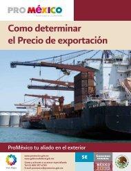 Cómo determinar el Precio de Exportación - ProMéxico
