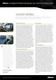 AUDIO MOBIL - Altium