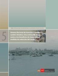 Sistema Nacional de Inversión Pública y cambio climático. Una ...