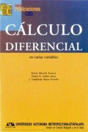 calculo diferencial en varias variables - Uamenlinea.uam.mx