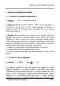 Cálculo do tamanho da amostra nas pesquisas em - Unicuritiba - Page 6