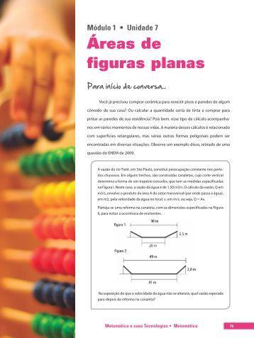 Áreas de figuras planas - SEJA