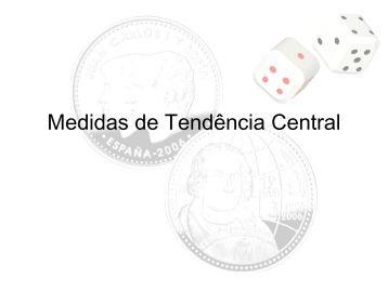 Medidas de Tendência Central - Computer and Information ...