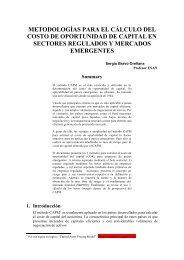 metodologías para el cálculo del costo de ... - IndicePeru.com