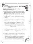 Calculando la probabilidad de eventos independientes - Page 6