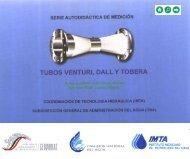 Tubos Venturi, Dall y Tobera - Conagua