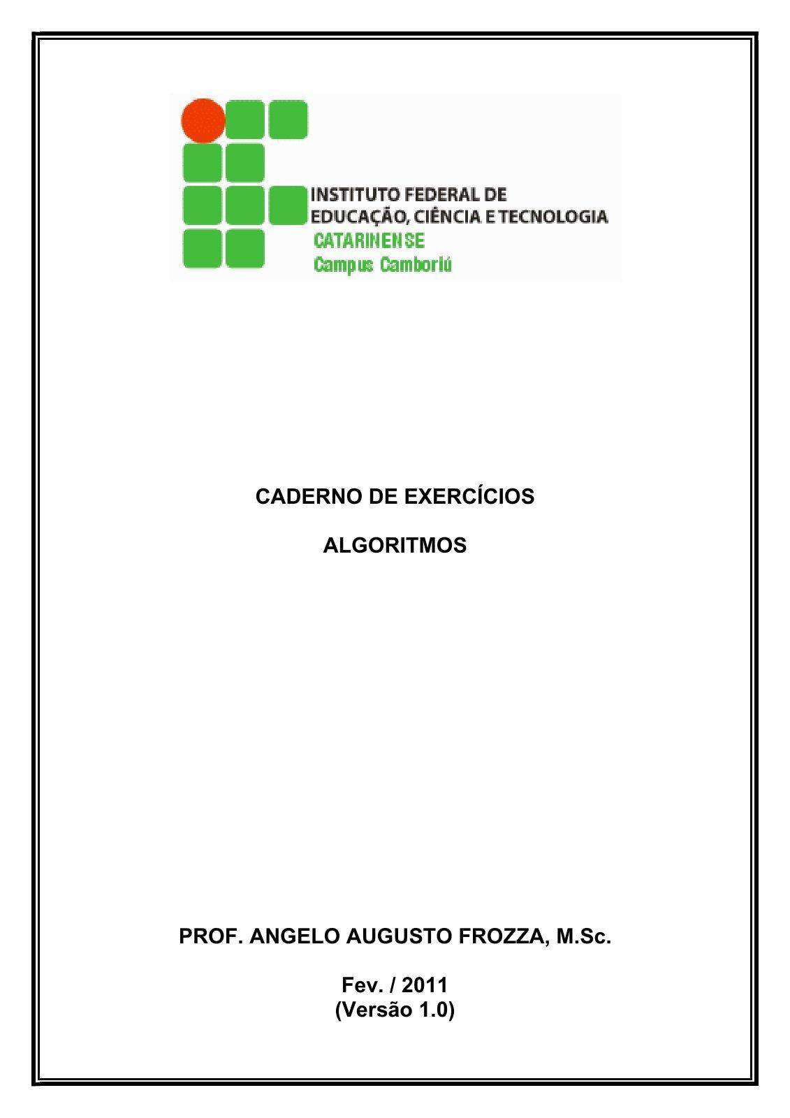 Caderno de Exercicios - Algoritmos-Versao 1.0.pdf