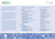 DEGS-Symposium