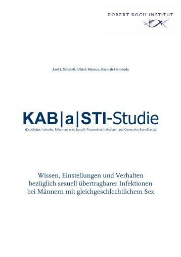 Abschlussbericht zur KAB|a|STI-Studie (PDF, 3MB - RKI