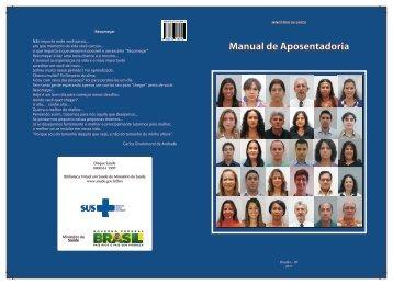 Manual de Aposentadoria - Ministério da Saúde