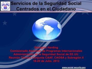Servicios de la Seguridad Social Centrados en el Ciudadano - CISS