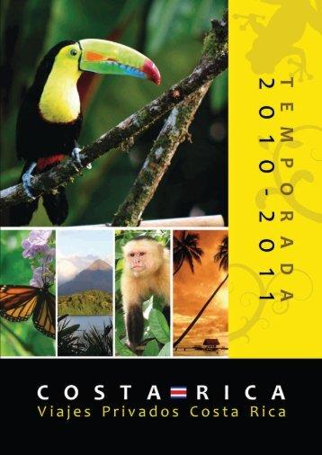 Viajes Privados Costa Rica 2010-2011.pdf - Vinntours.es
