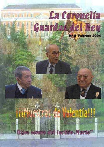 Revista Coronelía Guardas del Rey nº 8 - Ejército de tierra