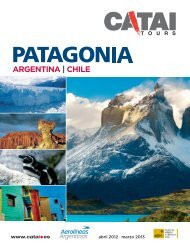 argentina - Catai Tours