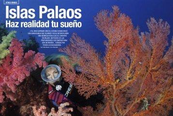 articulo sobre Buceo Palau publicado por la revista Inmersión en ...