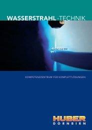 WASSERSTRAHL -TECHNIK
