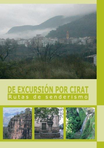 Rutas de Senderismo en pdf. - Cirat