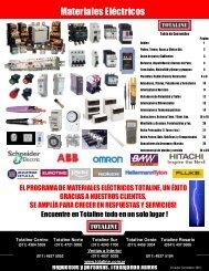 Materiales eléctricos en Totaline