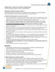 ENDOSCOPIA CAPSULAR (CAPSULE ENDOSCOPY ... - Medicine
